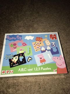 Peppa Pig puzzles New
