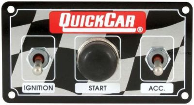 Buy QuickCar Ignition Control Panel 2 Toggles/1 Push Button motorcycle in Lincoln, Arkansas, United States, for US $69.95