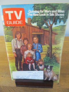 TV Guide Little House on the Prairie~July 1980
