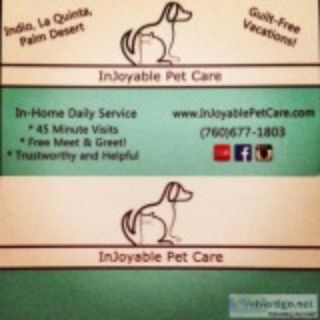 Looking for a trusrthy In Home Pet Sitter