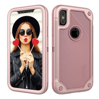 Case for iPhone XS,iPhone X,Digital Hutty 3 in 1 Shockproof Heavy Duty