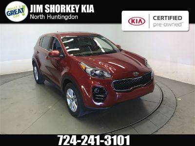 2017 Kia Sportage (Red)