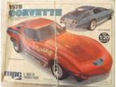 Vintage Models--1978 Chevy Corvette Rainbowvette--Mpc 1/20