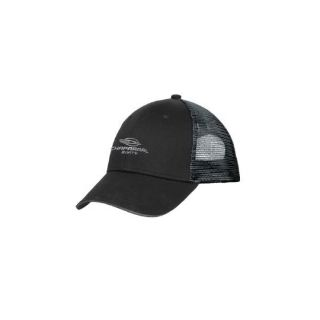 Purchase Chaparral Boats Black/Silver Double Mesh Snap Back Cap Hat motorcycle in Millsboro, Delaware, United States, for US $24.95