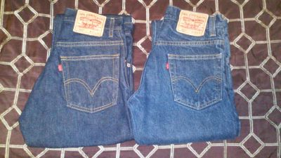 Levis Blue Jeans (2 pair for 1 price)