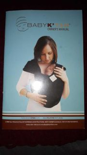 Baby K'Tan XS. Baby Carrier/Wrap