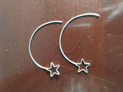 Girl's Star Earrings