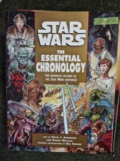 "Star Wars ""The Essential Chronology"" The Definitive History of the Star Wars Universe!"