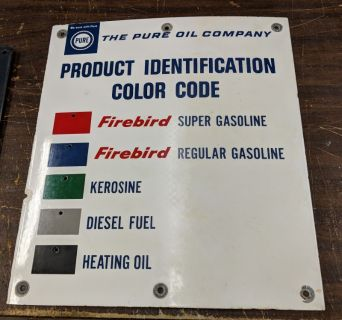 Pure Oil sign