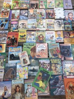 Chapter books (4th/5th grade)