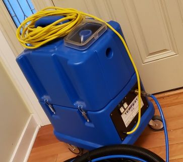 NaceCare TP8X Tempest carpet extractor 8025152 canister 8 gallon 20 foot hose kit 130psi pump
