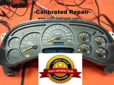 $110 GM Instrument Cluster Speedometer Repair