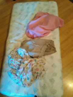 Toddler mattress with sheets