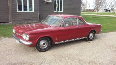 1963 Chevrolet Corvair Monza 900 (Red)
