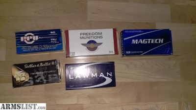 For Sale: 1800 rds .40 S&w factory ammo