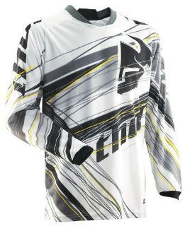 Find Thor Phase Vented Wired Jersey Grey White Medium NEW 2014 motorcycle in Elkhart, Indiana, US, for US $39.95