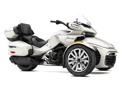 2017 Can-Am SPYDER F3 LTD 1130 ACE PEARL WHT Trikes Motorcycles Barre, MA