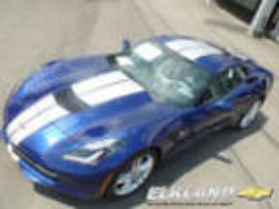 2019 Chevrolet Corvette Admiral Blue Metallic Coupe MSRP $65055 Heated/Vented