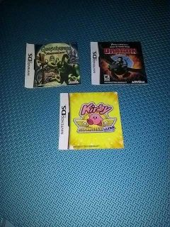 Nintendo DS instruction manuals