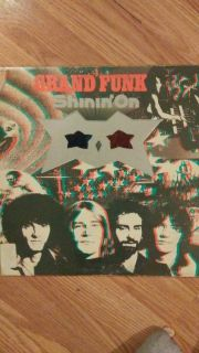 GRAND FUNK (shinin on) 33 rpm LP