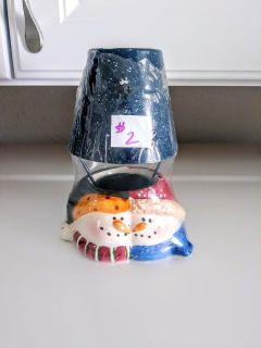 Holiday Tealight Candle Holder