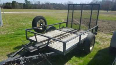 5 X 8 MOTORCYCLE / UTILITY TRAILER FOR RENT AVAILABLE AT 3100 FREEDOM WAY HUBERT