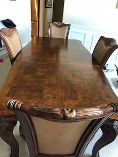 Solid Wood Extra Large Dining Table