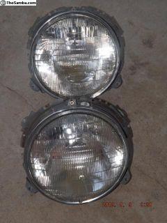 Porsche 911 Sealed Beam Headlight Assembies