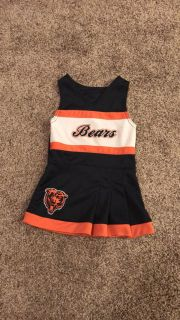 12Month Olds Chicago Bears Cheer Uniform