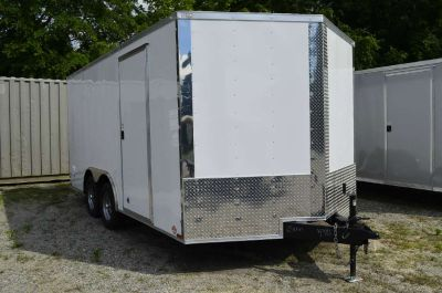 2017 Other New 8.5x16 TA V-Nose Enclosed Trailer