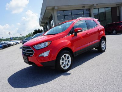2018 Ford EcoSport SE (red)