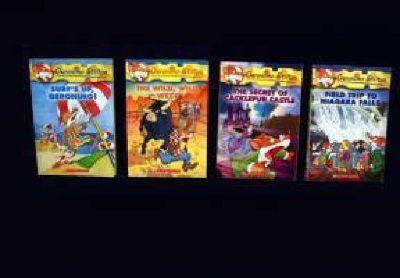 $20 12 Kid's Geronimo Stilton books