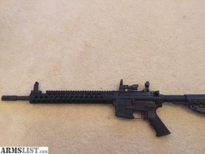 For Sale/Trade: AR-15 with troy industries upper