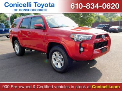 2017 Toyota 4Runner SR5 (Barcelona Red Metallic)