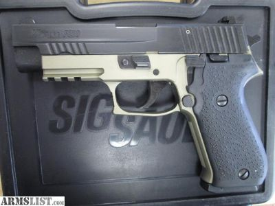 For Sale: Sig Sauer P220 tutone
