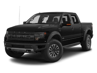 2013 Ford F-150 SVT Raptor (White)