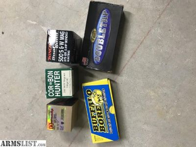 For Trade: 500 Magnum Ammo (92 rounds total)