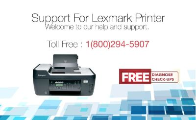 Lexmark Printer Support Toll-Free 1-800-294-5907