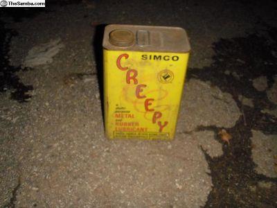 Vintage oil can $30.00