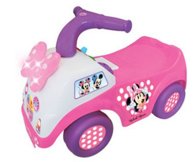 Minnie Mouse ride along