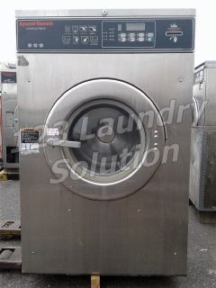 Fair Condition Speed Queen Commercial Front Load Washer Card Reader 27LB 1PH SC27NR2YN40001