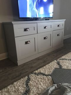 Tv stand ( grey, Taupe)