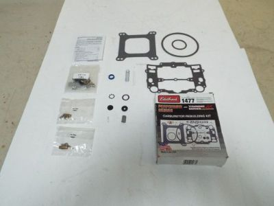 Find EDELBROCK 1477 CARB KIT FOR ALL EDELBROCK SQUARE BORE CARBS ORIGINAL PARTS motorcycle in Poplar Bluff, Missouri, United States, for US $22.00