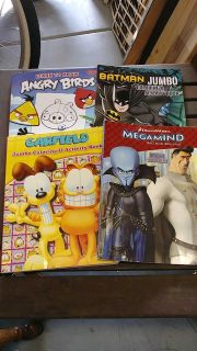 3 new coloring books 1 learn to draw Angry Birds