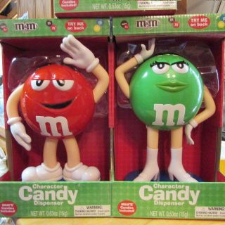 Gift Idea NEW M&M DISPENSERS - multiples of each