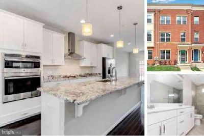 1210 Berry St Baltimore Three BR, Elegant brick front townhome by