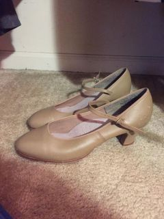 Capezio tap shoes/character shoes for plays size 9.5 women