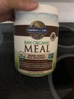 Raw Organic meal replacement. My loss your gain. $5.00