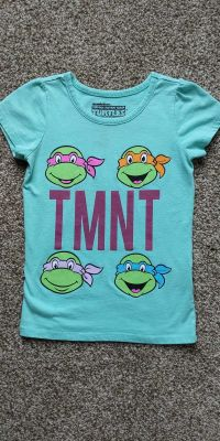 Ninja turtles t-shirt size 5T.
