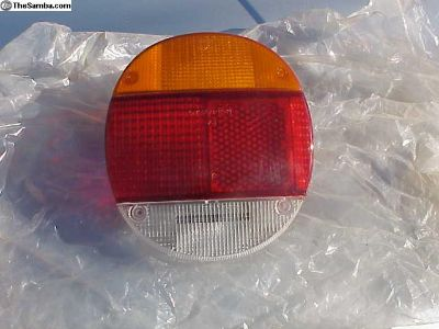 New, Tail Light Lens 1974 to 1979 Right side